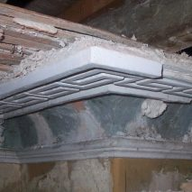 Russborough House. Ceiling restoration